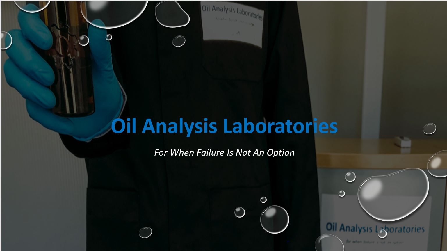 All About Oil Analysis